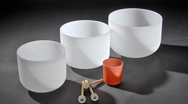 3 Crystal Bowls Samayaa